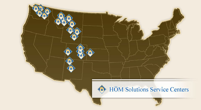 HOM Solutions Service Centers